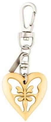 St. John Mixed-Metal Logo Keychain