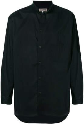 Yohji Yamamoto classic long-sleeve shirt
