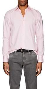 Fioroni Men's Pinstriped Cotton Poplin Shirt
