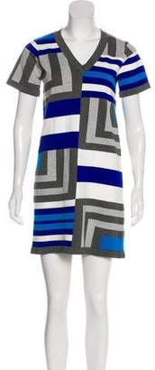 Milly Intarsia Mini Dress