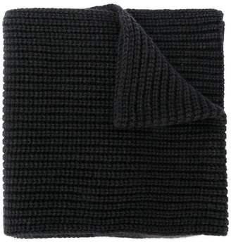 Iris von Arnim cashmere rib knit scarf