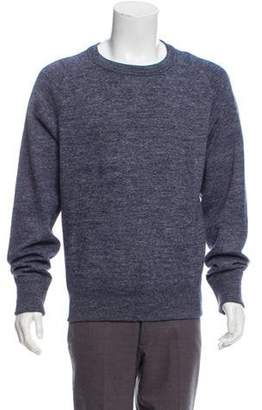 Tom Ford Woven Crew Neck Sweater blue Woven Crew Neck Sweater