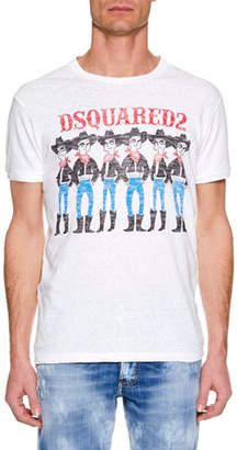 DSQUARED2 Men's Logo Chic Dan T-Shirt
