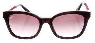 Tod's Square Gradient Sunglasses w/ Tags