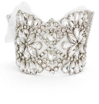 Women's Nina Crystal Tie Bracelet $145 thestylecure.com