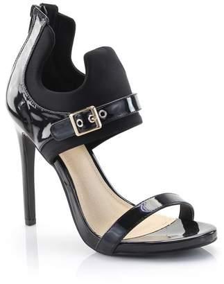 Kayleen Reeta Ankle Cutout Stiletto Sandal