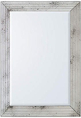 John-Richard Collection Porter Oversize Wall Mirror - Antiqued Silver