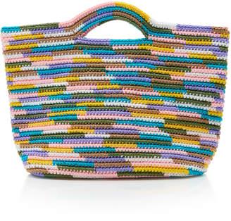 Sensi Studio Crochet-Knit Tote