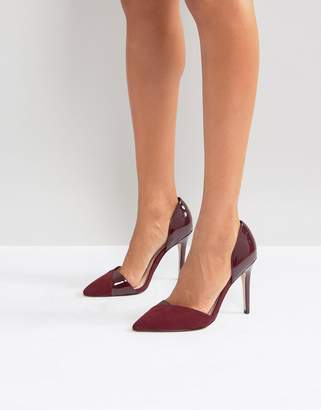 Miss KG Two Part Point High Heels