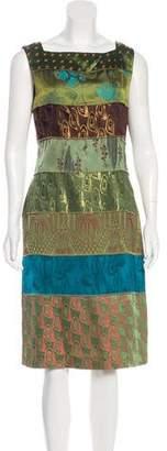 Jean Paul Gaultier Brocade Midi Dress