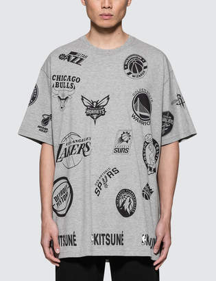 MAISON KITSUNÉ All Over S/S T-Shirt