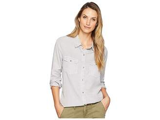 True Grit Dylan by Luxe Laundered Tencel Classic Two-Pocket Shirt