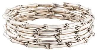 John Hardy Bamboo Coil Bracelet