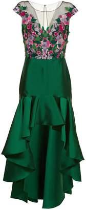 Marchesa Mikado Dress