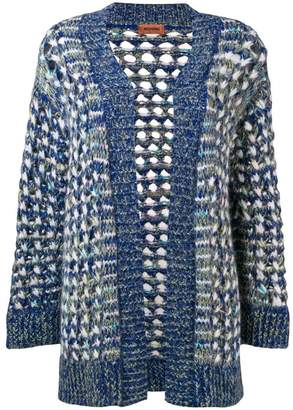 Missoni large mesh cardigan