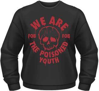 Fall Out Boy Men's The Poisoned Youth FOB Sweater Black