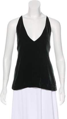 Dion Lee Sleeveless Velvet Top w/ Tags