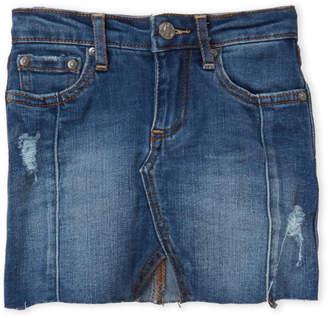 AG Adriano Goldschmied Toddler Girls) Kayla Mid-Length Denim Skirt