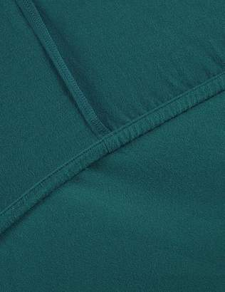 Marks and Spencer Pure Cotton Brushed Deep Fitted Sheet