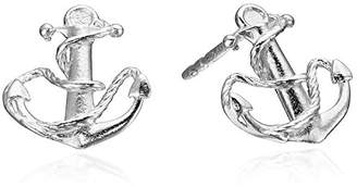 Alex and Ani Post Anchor Stud Earrings