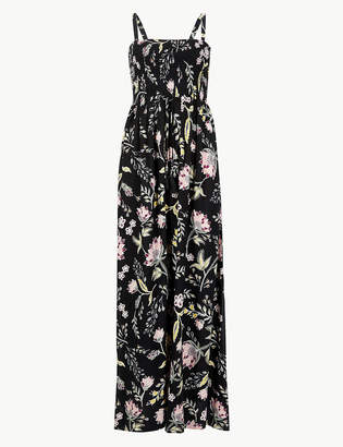Marks and Spencer Floral Print Beach Maxi Dress