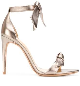 Alexandre Birman bow upper stiletto sandals