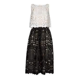 Ivory/Black Emmie Dress