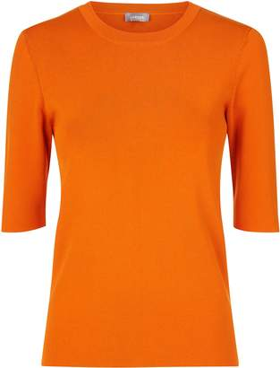 Jaeger Compact Knit Tee