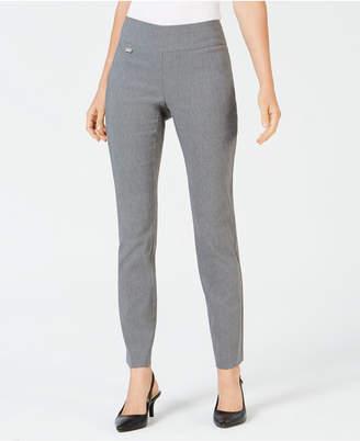 Alfani Tummy-Control Pull-On Skinny Pants
