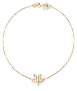 Dana Rebecca 14ct Rose Gold Star Bracelet