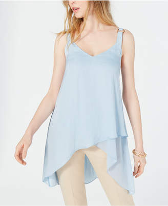 Vince Camuto High-Low Overlapping-Hem Camisole
