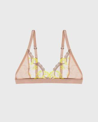 Lonely Yellow Daisy Scout Softcup Bra
