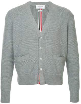 Thom Browne centre-back stripe cardigan