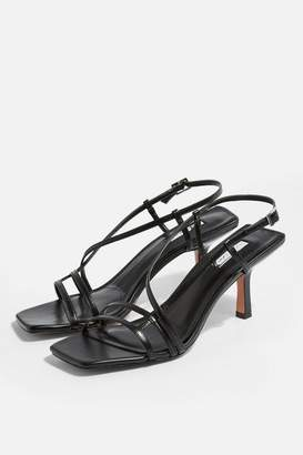 d1e77af02a63 Topshop STRIPPY Heeled Sandals