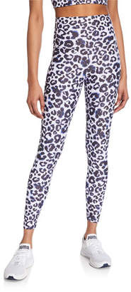 Beach Riot Piper High-Waist Leopard-Print Leggings