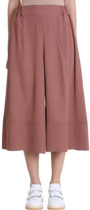 Acne Studios Polly Fluid Twill Dusty Pink Trousers