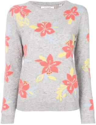 Parker Chinti & hibiscus knot stitch jumper