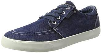 Replay Mens GMV72 .000.C0028T Low-Top Sneakers Blue Size: 42