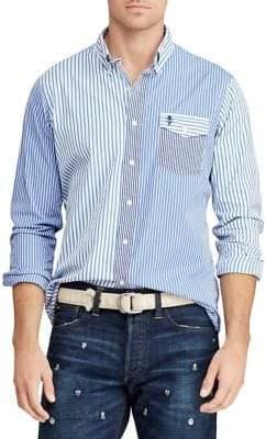 Polo Ralph Lauren Classic-Fit Poplin Fun Shirt