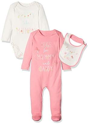 Mothercare Baby Girls' Mummy & Daddy Clothing Set,(Manufacturer Size: 80 cms)
