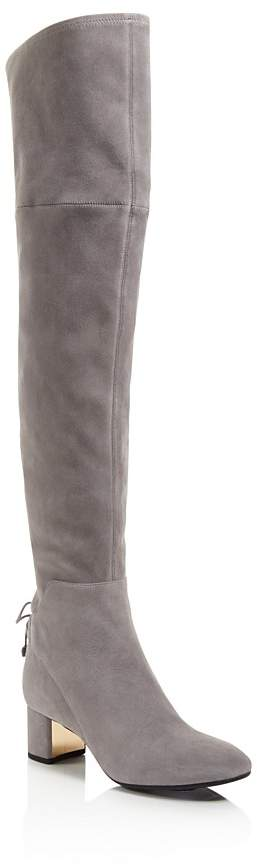 Tory Burch Women's Laila Suede Over-the-Knee Boots