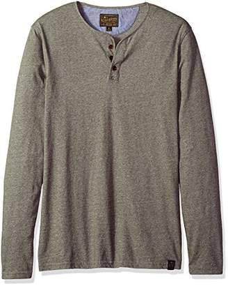 Lucky Brand Men's Long Sleeve Y Neck T Shirt