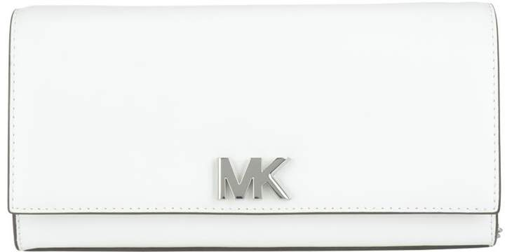 Michael Kors Large Mott Clutch - OPTIC WHITE - STYLE