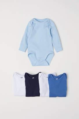 H&M 5-pack Bodysuits - Blue