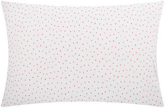 Christy Speckle Pillowcase - Coral