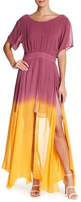 Religion Dip Dye Maxi Dress