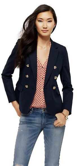 Juicy Couture Double-Breasted Suiting Blazer