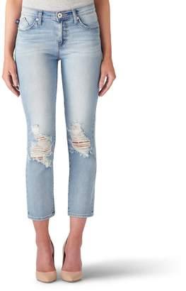 Rock & Republic Women's Kaia Ripped Crop Jeans