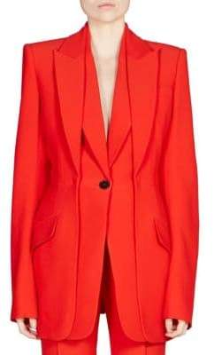 Alexander McQueen Double Lapel Jacket