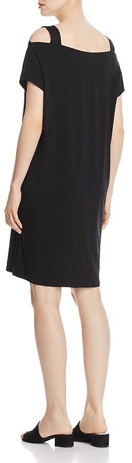 Eileen Fisher Cold-Shoulder Dress 3